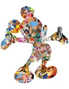Walt Disney Animation in Mickey Disney Pixar, Disney Mickey Mouse, Disney Magic, Arte Do Mickey Mouse, Disney Amor, Mickey Mouse And Friends, Disney Girls, Disney Love, All Disney Characters