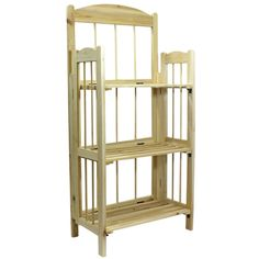 3 Tier Foldable Wooden Storage Bookshelves Bookcase Folding Display Shelving   eBay