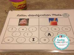 Freebie- Letter Identification Mats