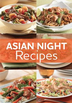 You don't have to order takeout to enjoy Asian food at home. Our Asian-inspired recipes are deliciously flavorful and surprisingly easy to prepare. Try one tonight!