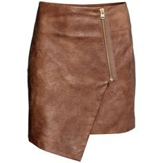 Fabulous Find of the Week: H&M Faux Leather Skirt