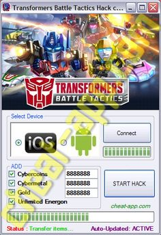 Transformers Battle Tactics Hack Telecharger Gratuit  Download: http://cheat-app.com/transformers-battle-tactics-hack-tool/