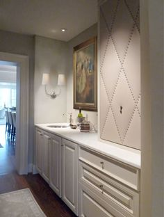 Wet bar off the dining room ~ Pursley Dixon Architecture