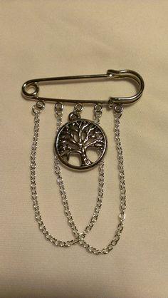 Tree of Life Kilt Pin, Brooch