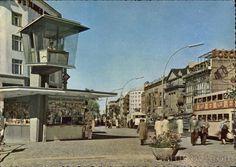 BERLIN 1960, Kurfürstendamm, Ecke Joachimsthaler Strasse, Germany