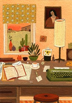 Becca Stadtlander ~ (American Illustrator - Born : Covington, Kentucky)