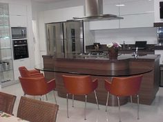 casa Jurerê Internacional - Cozinha