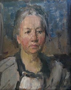 Johanna van Gogh-Bonger, 1925 (Isaac Israëls) (1865-1934) Van Gogh Museum, Amsterdam