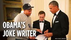 Former Speechwriter for President Obama Shares an Inside Look at the President's Use of Humor