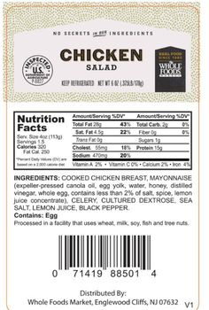 Willow Tree Poultry Farm recalls chicken salad product