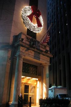 This marble fronted building has been the home of America's principal securities market since 1903. The New York Stock Exchange, NY
