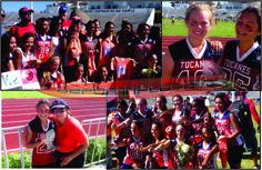 Las niñas de Tucanes-Rojas de benjamín a campeón