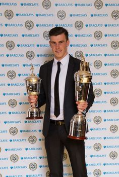Gareth Bale,the PFA young player of the year,the PFA player of the year,the FWA player of the year!2012-2013