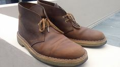 womens clarks desert boots beeswax leather 70294