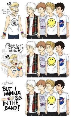 Niall wants to join 5SOS