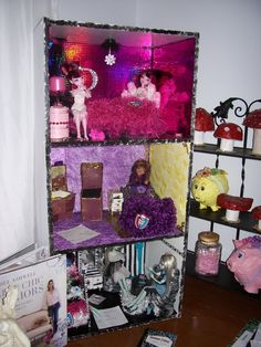 Monster High Dolls Bedrooms