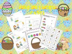 Fise de lucru Pasti   CLASA PREGATITOARE Preschool Activities, Halloween, Homeschooling, Homeschool, Spooky Halloween