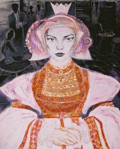 "Yury Ermolenko (Юрий Ермоленко) ""Queen Alice"" (""ALICE NEW!"" project) 2005, acrylic on canvas 180x140 cm. #YuryErmolenko #юрийермоленко #ЮрийЕрмоленко #живопись #yuryermolenko #acrylic #picture #painting #art #fineart #contemporaryart #modernart #inspiration #amazing #sexy #wonderland #hot #colorful #texture #RapanStudio #exhibition #psychedelic #metaphysics #cовременноеискусство #mystery #картина #artwork #выставка #alice #fairytale #dream #sensual #fantasy #AliceInWonderland #new #queen…"