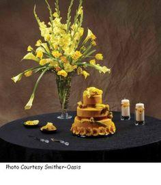 gladiolus arrangement wedding - Google Search