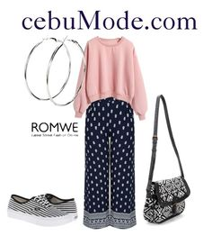 """Pink Sweatshirt 5"" by cebumode on Polyvore featuring Vans"