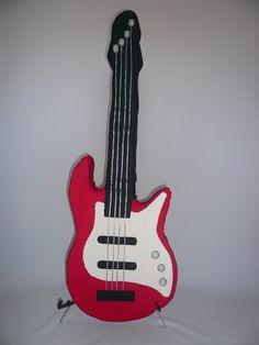 Gitarren Kissen - E-Bass Kissen zu verkaufen