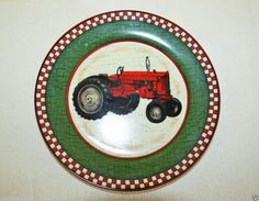 Farmall Antique Tractor Decorative Plate New with Tags International