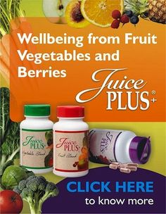 Love Juice Plus! I have been on it a while and it has done wonders for my skin, digestion, and asthma. Ask me more http://katiekjuiceplus.com