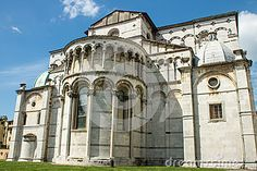 Back Side Of Cathedral Of Lucca - Download From Over 24 Million High Quality Stock Photos, Images, Vectors. Sign up for FREE today. Image: 40218793