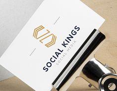 """Check out new work on my @Behance portfolio: """"Logo design for Social Kings (December 2016)"""" http://be.net/gallery/52318785/Logo-design-for-Social-Kings-(December-2016)"""
