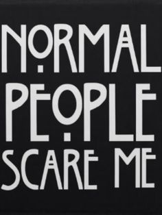 American Horror Story's wise and adorable quote.