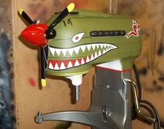 My kind of mixer! Air Brush Painting, Painting Tools, Kitchen Paint, Kitchen Aid Mixer, Aviation Decor, Kitchen Aid Recipes, Airplane Art, Nose Art, Paint Schemes