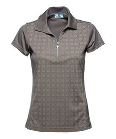 Another great find on #zulily! Toast Eileen Cap-Sleeve Polo by Daily Sports #zulilyfinds