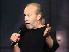 George Carlin Stupid People - http://lovestandup.com/george-carlin/george-carlin-stupid-people/
