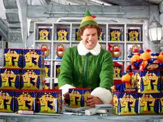 Will Ferrell's reactions during the jack-in-the-box scene in Elf were totally real — the director surprised him every time he played with one of the toys by using a remote control. | 23 Strange Movie Facts You Probably Didn't Know Until Now