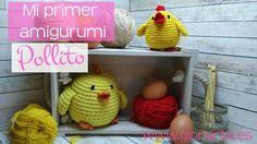 Mi primer amigurumi crochet | Especial principiantes | Pollito súper fácil. Easy chick amigurumi. - YouTube