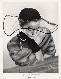 Hat by Claude St Cyr , 1951
