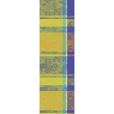 Chemin de table collection printemps été 2016 par Garnier-Thiebaut - Modèle : Mille patios - Chemin de table 100% coton - Coloris : majorelle #MillePatios #Majorelle #ChemindeTable #MadeinFrance #TableSetting #ArtdelaTable #Table #Jardin #Home #Maison #deco #coton #decoration