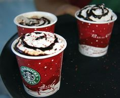 Starbucks Christmas cups put me in a great mood :)