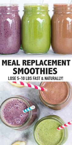These weight loss smoothie recipes can serve as a meal replacement to help jumpstart your weight loss boost metabolism and cleanse your body naturally weightlossdrinks weightlosssmoothies smoothierecipes Weight Loss Smoothie Recipes, Weight Loss Drinks, Weight Loss Meal Plan, Fast Weight Loss, Healthy Weight Loss, How To Lose Weight Fast, Fat Fast, Drinks To Lose Weight, Foods To Lose Weight