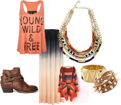 """I would basically live in this outfit...Want it all.  """"Boho Chic"""" by allisonryoung on Polyvore"""