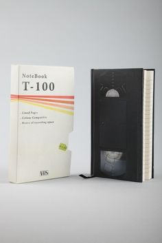 Video tape note book from Typo