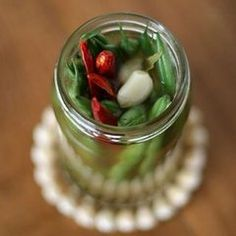 Hang Onto Green Bean Season With Spicy Pickles... for next year so ...