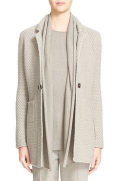 Fabiana Filippi Shawl Collar Cashmere Cardigan available at #Nordstrom
