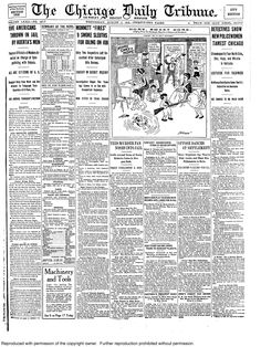 """Aug. 6, 1913: Scientists thought they discovered Coronium, an element weighing less than hydrogen. The gas, discovered during a total solar eclipse, was to be produced on Earth, and, if successful, would change our relationship with the planets. """"When the earth becomes too cold for human habitation the people could move in airships to any planet that might strike their fancy. That would be unnecessary for a million years or more."""" The scientists actually saw highly ionized iron and nickel."""