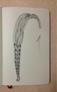 Day 351: My hairstyle for the day * a casual side braid
