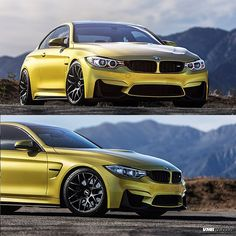 The scene has been set  Austin Yellow BMW M4 on 19x10 and 19x11 @vmrwheels V710 Wheels  These #vmrwheels and more are available at www.VividRacing.com or call 1-866-448-4843 Sales@Vividracing.com  #vividracing #bmw #vmr #austinyellow #m4 #f82 #bmwnation #bmwgram #carswithoutlimits #carsofinstagram