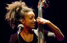 Grammy Award-winning jazz bassist and vocalist Esperanza Spalding says one of the reasons jazz music has a difficult time becoming more mainstream is that Esperanza Spalding, Lianne La Havas, All About Jazz, Jazz Songs, Jazz Artists, African American Hairstyles, Iconic Women, Afro Hairstyles, Music Is Life