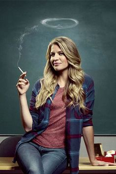 Rita, DenmarkThis Danish dramedy centers on teacher and single mother Rita Madsen. Its promotional image caused all sorts of problems with anti-smoking groups.Where to watch: Netflix #refinery29 http://www.refinery29.com/2015/04/86126/best-foreign-tv-shows#slide-39