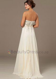 Zipper Beading Strapless Floor-length Ivory Sleeveless A-line Dresses - 1506119 - Prom Dresses Prom Dresses, Formal Dresses, Beading, Ivory, Floor, Zipper, Dance, Inspiration, Fashion