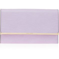 Henri Bendel A-List Embossed Clutch (3.796.090 IDR) ❤ liked on Polyvore featuring bags, handbags, clutches, lilac, coin pouch, purple handbags, purple leather handbag, leather coin purse и genuine leather purse